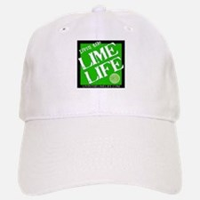 Livin' the Lime Life Logo Baseball Baseball Cap