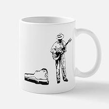 london busker Mug