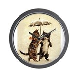 Cat Wall Clocks