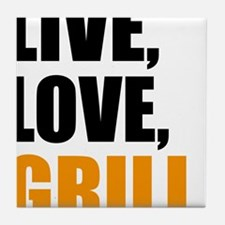 grill Tile Coaster