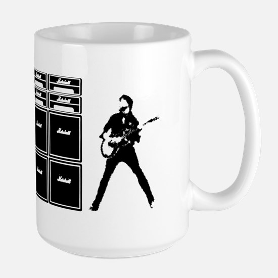 jcm800 marshall stacks Large Mug