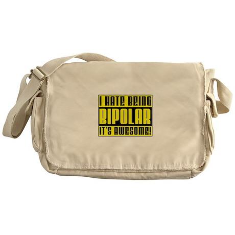 Bipolar Is Awesome Funny T-Shirt Messenger Bag
