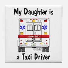 Taxi Driver Daughter Tile Coaster