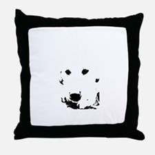 My Lab Throw Pillow