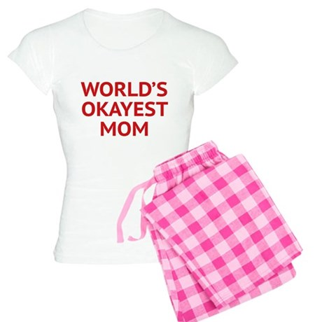 World's Okayest Mom Women's Light Pajamas