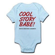 Cool Story Babe Sandwich Funny T-Shirt Body Suit