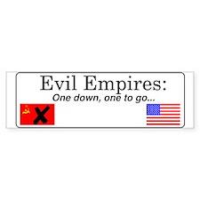 Evil Empires Bumper Bumper Sticker