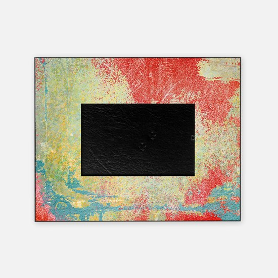 Cool Red abstract Picture Frame