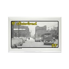 I Survived 77 (Buffalo, NY) Rectangle Magnet