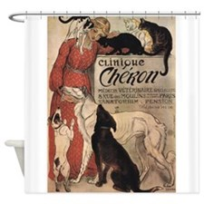 Clinique Cheron, Dogs, Cats, Steinlen, Vintage Pos