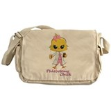 Phlebotomy chick Messenger Bags & Laptop Bags