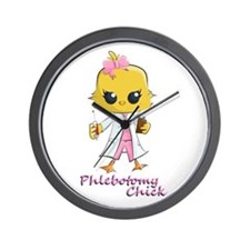 Cute Phlebotomist Wall Clock
