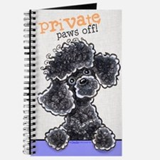 Black Poodle Private PAWS OFF Journal