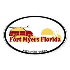 Fort Myers - Beach Design. Decal