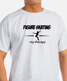 Figure Skating my therapy T-Shirt