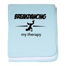 Breakdancing my therapy baby blanket