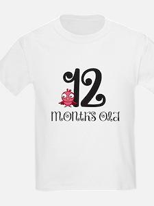 12 Months Old Baby Bird T-Shirt