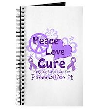 Purple Peace Love Cure Journal