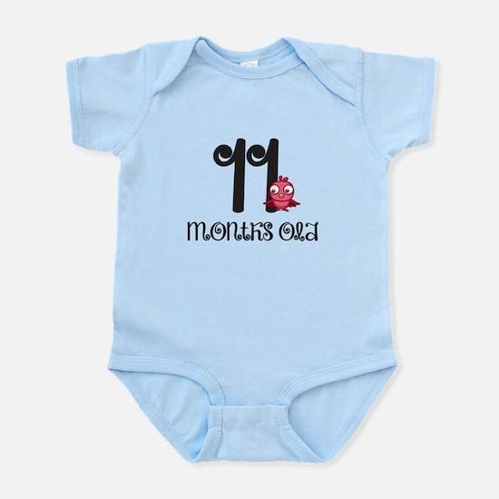 11 Months Old Baby Bird Body Suit
