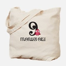 9 Months Old Baby Bird Tote Bag