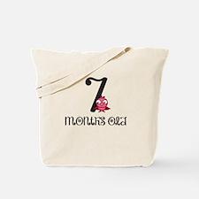 7 Months Old Birdie Baby Milestone Tote Bag