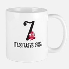 7 Months Old Birdie Baby Milestone Mug