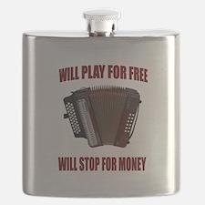 ACCORDION FUN Flask