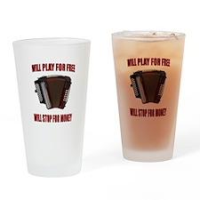 ACCORDION FUN Drinking Glass