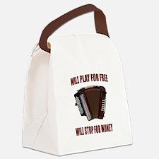 ACCORDION FUN Canvas Lunch Bag