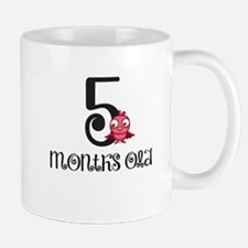 5 Months Old Birdie Baby Milestone Mug