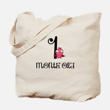 1 Months Old Birdie Baby Milestone Tote Bag