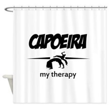 Capoeira my therapy Shower Curtain