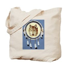 Wolf Shield Tote Bag