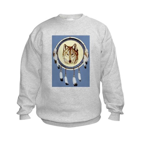 Wolf Shield Kids Sweatshirt