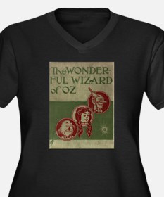 Wizard of Oz Cover Plus Size T-Shirt