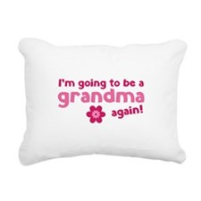I'm going to be a grandma again Rectangular Canvas