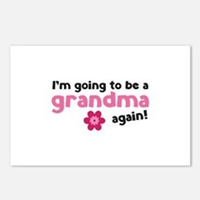 I'm going to be a grandma again Postcards (Package
