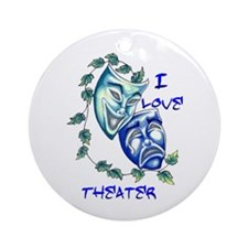 Ilove Theater Ornament (Round)