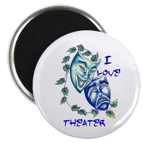 """Ilove Theater 2.25"""" Magnet (100 pack)"""