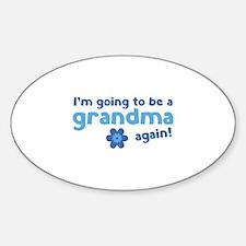 I'm going to be a grandma again Decal