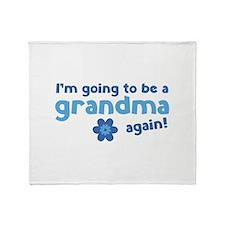 I'm going to be a grandma again Stadium Blanket