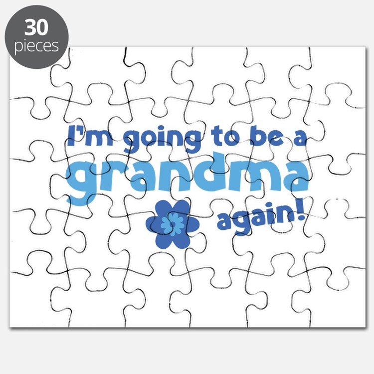 I'm going to be a grandma again Puzzle