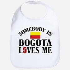 Somebody In Bogota Bib