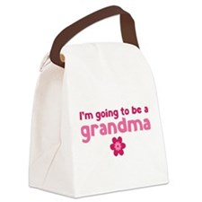I'm going to be a grandma Canvas Lunch Bag