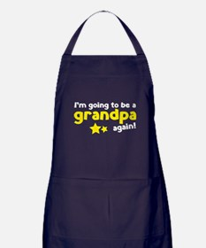 I'm going to be a grandpa again Apron (dark)