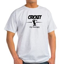 Cricket my therapy T-Shirt