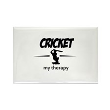 Cricket my therapy Rectangle Magnet