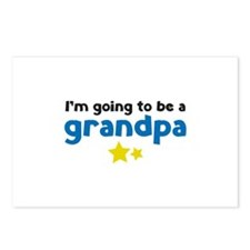 I'm going to be a grandpa Postcards (Package of 8)