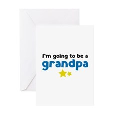 I'm going to be a grandpa Greeting Card