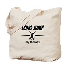 Long Jump my therapy Tote Bag
